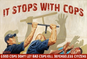Michael D'Antuono, It Stops With Cops, Freddie Gray