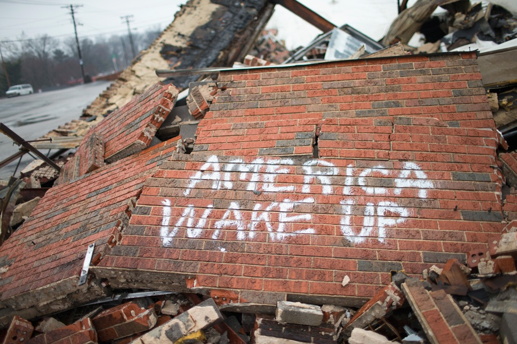 Ferguson's Fragile Recovery Shaken After Police Casualties