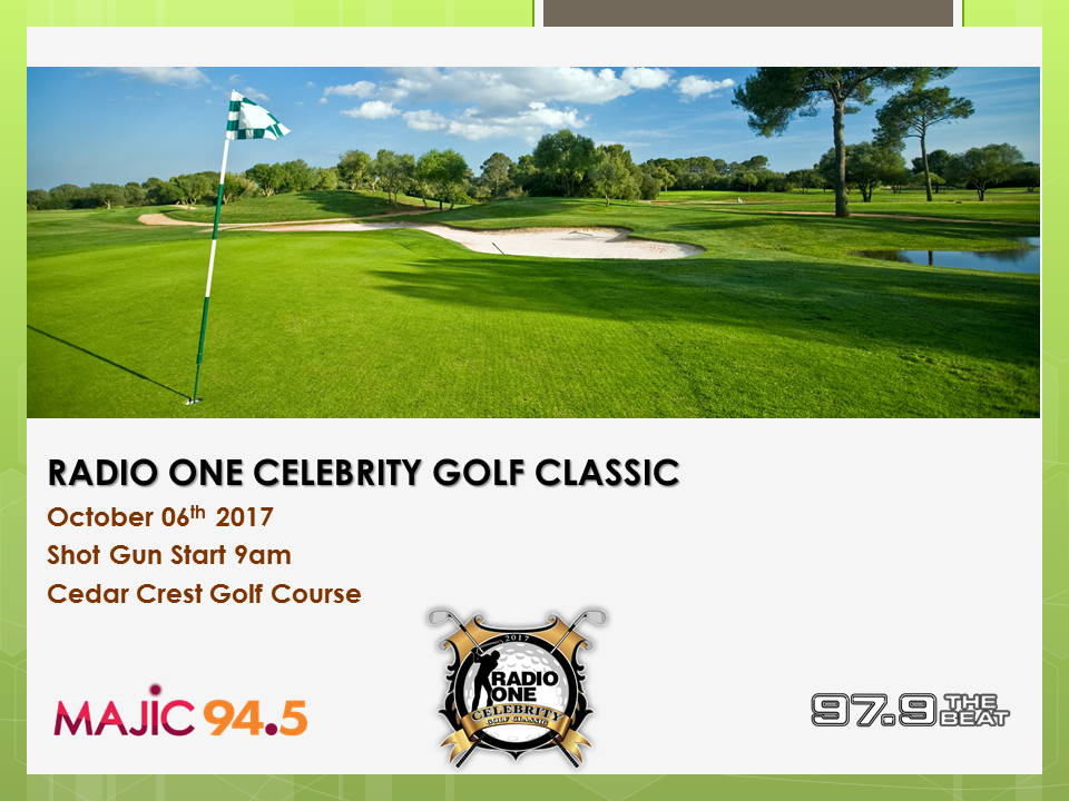 RADIO ONE CELEBRITY GOLF CLASSIC