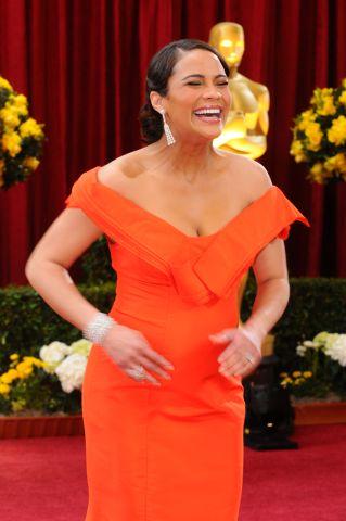 Paula Patton At The Oscars