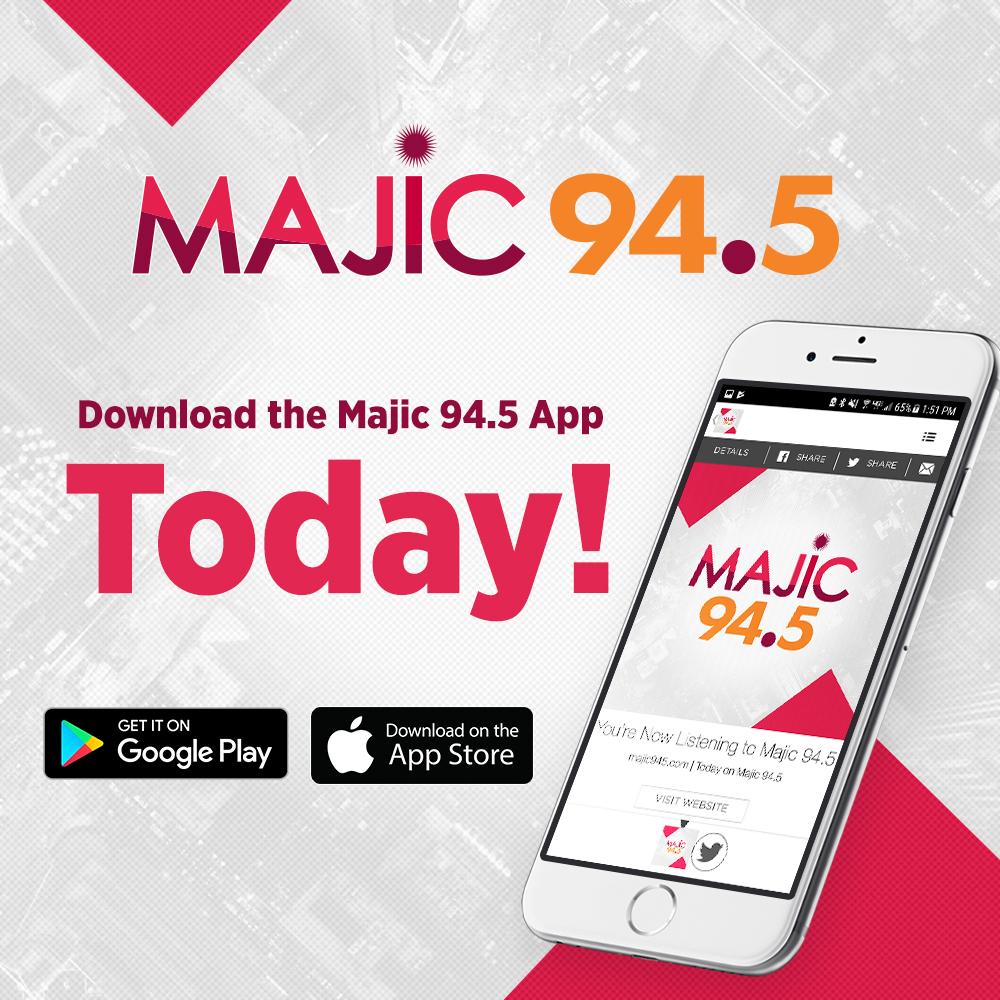 MAJIC 94.5 Clip Streaming App