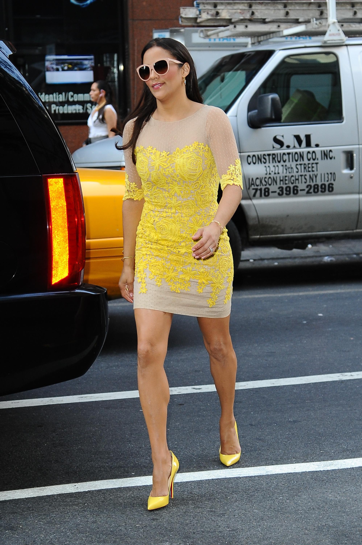 Celebrity Sightings In New York City - July 31, 2013