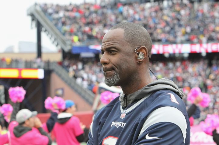 Celebrities Attend The New York Jets Vs New England Patriots Game