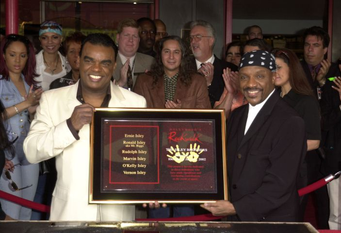 The Isley Brothers Inducted Into Hollywood's Rockwalk