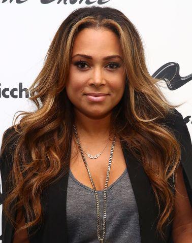 R&B Singer Tamia Visits Music Choice