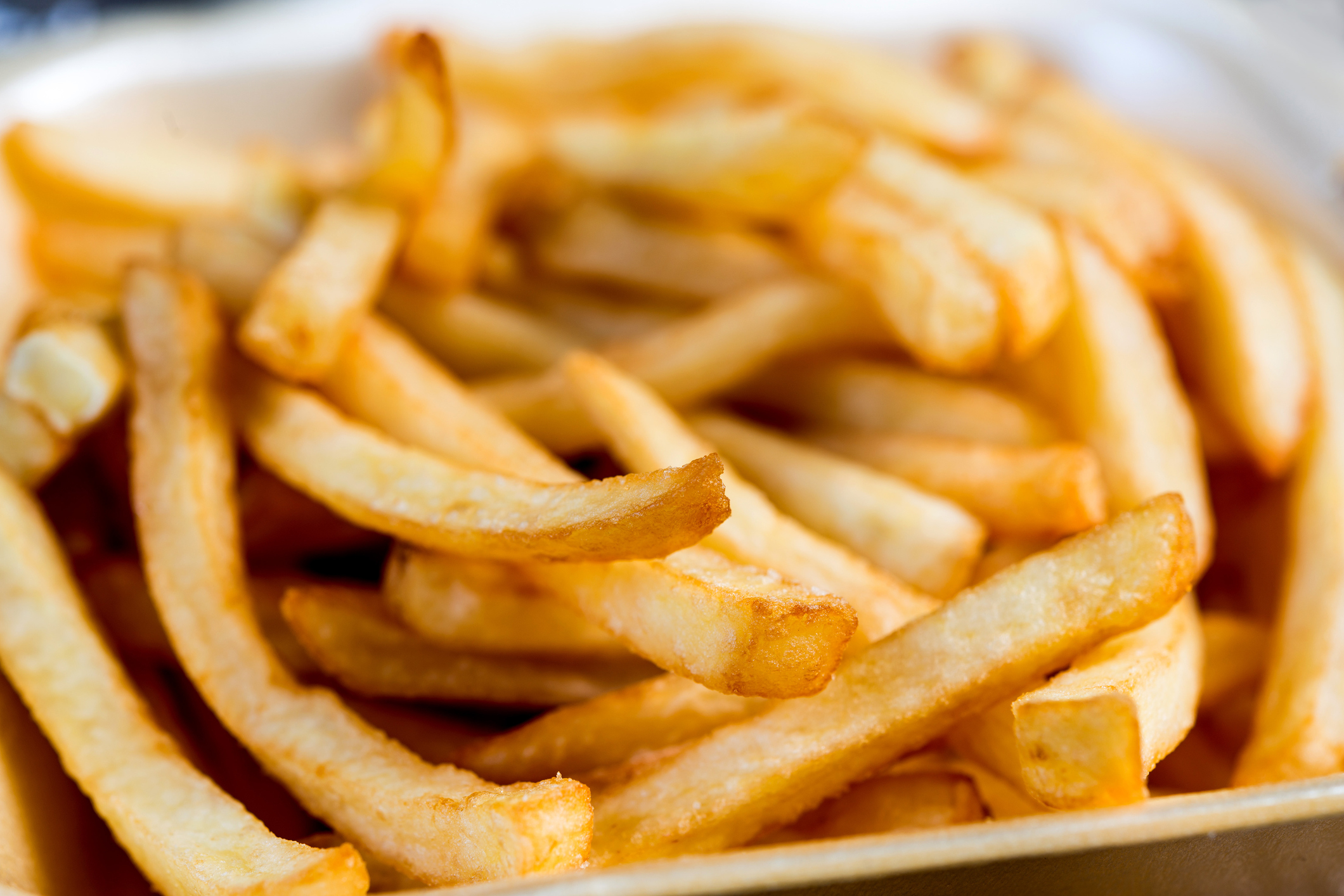 Close-Up Of French Fries