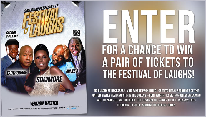 Festival of Laughs Ticket Giveaway