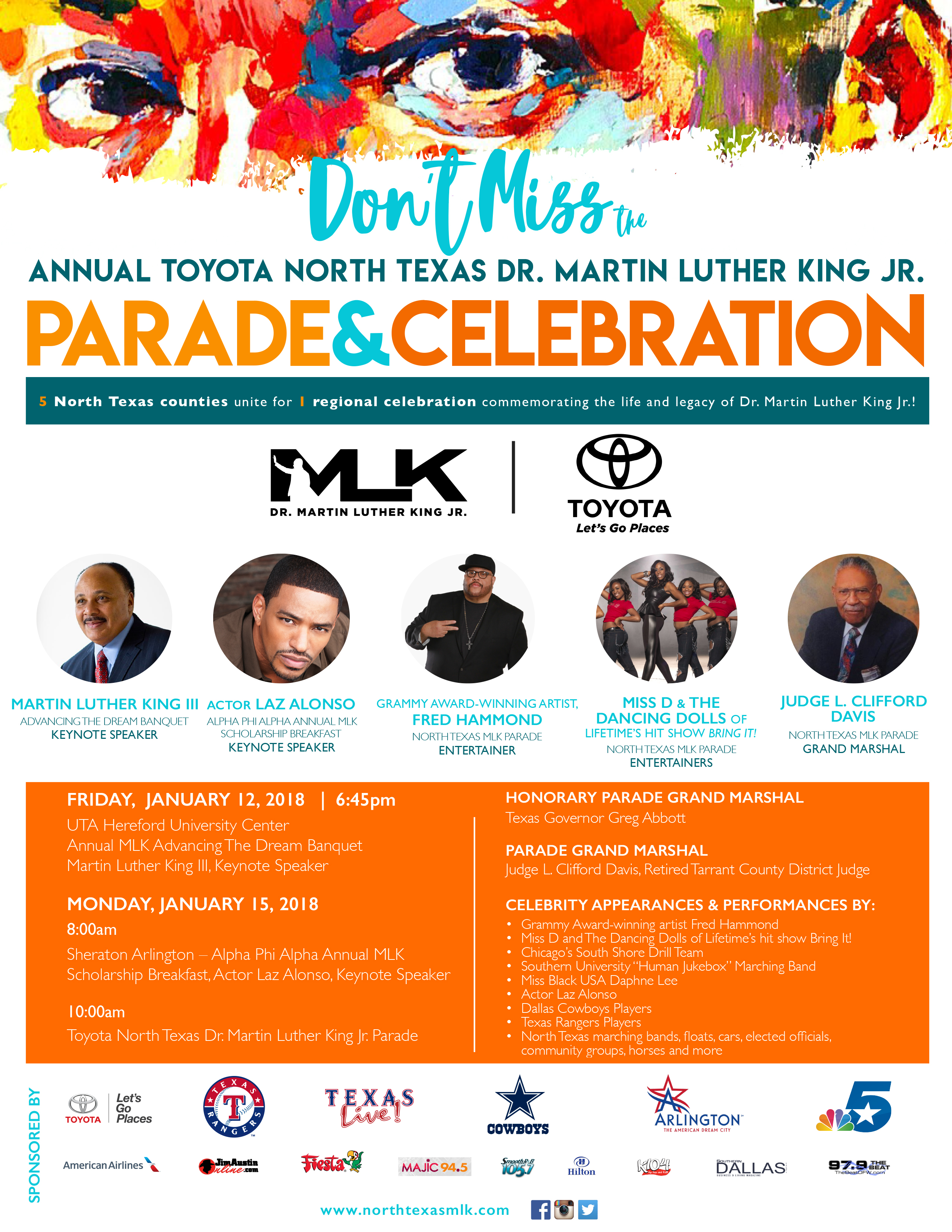 Annual Toyota North Texas Dr. Martin Luther King Jr Parade & Celebration