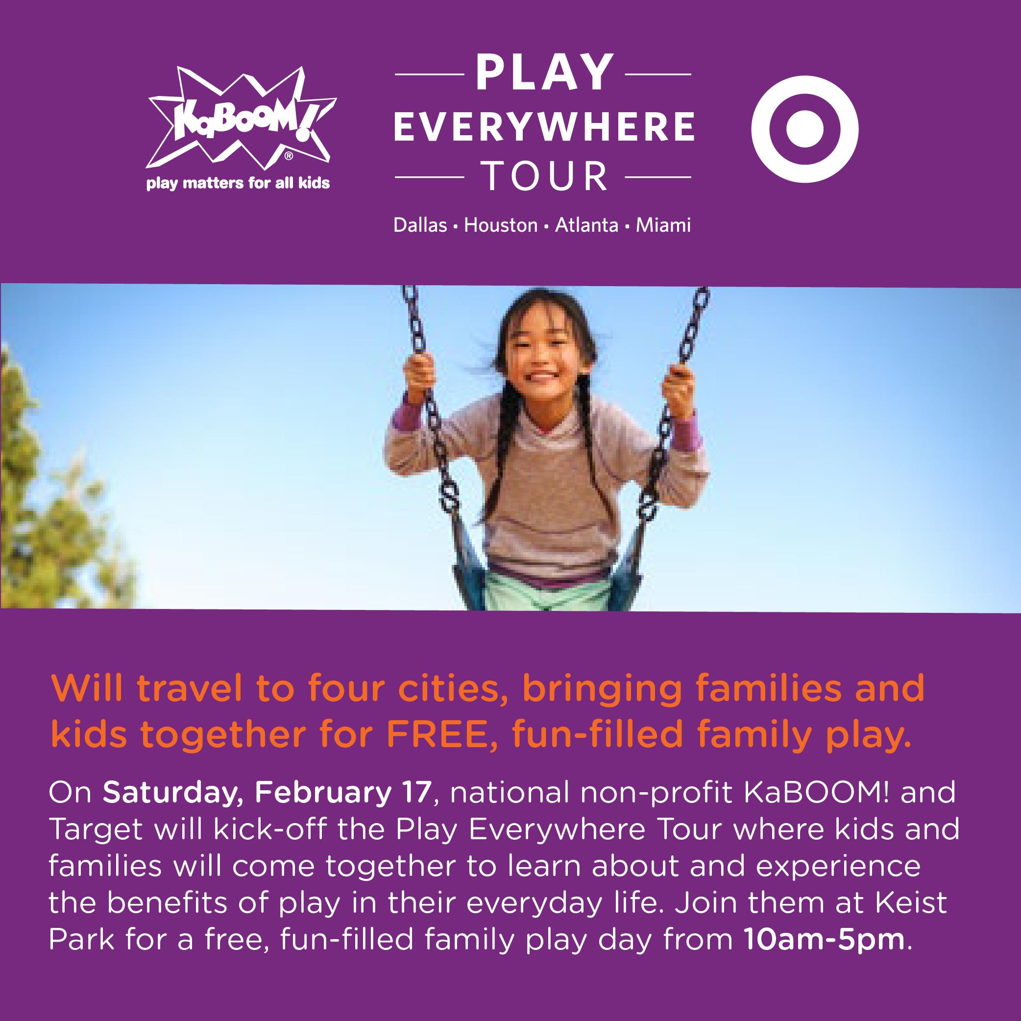 KaBoom, Play Everywhere Tour 2018