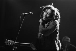 Bob Marley Performs In New York