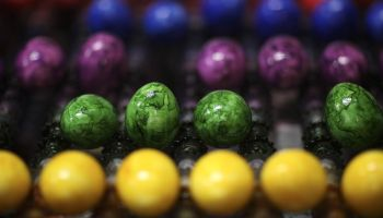 Easter Egg Factory Works Around The Clock To Meet Demand