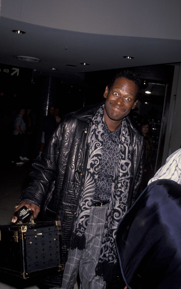 Luther Vandross Arriving At LAX From New York