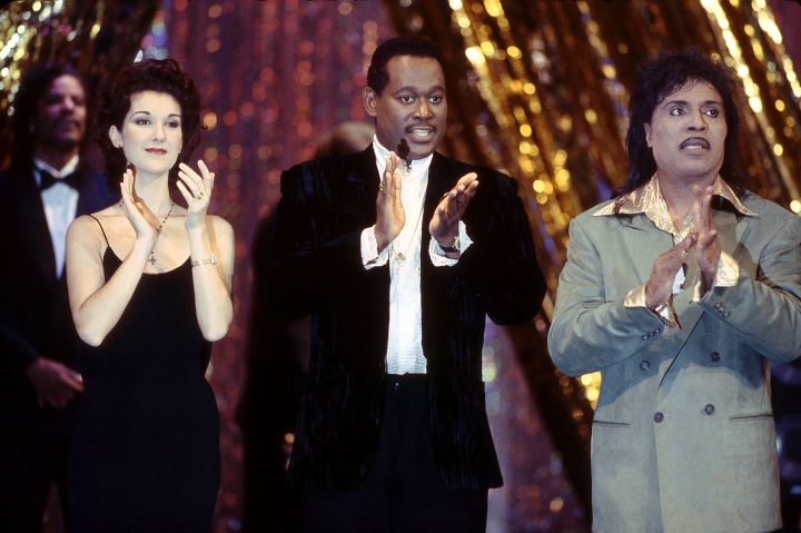 Celine Dion, Luther Vandross And Little Richard Appear At A Gala for the President at Ford's Theatre