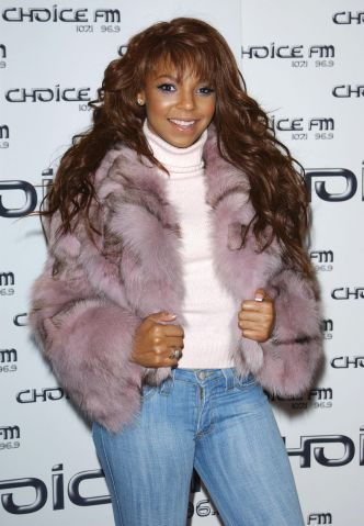 Ashanti at Choice FM - Leicester Square