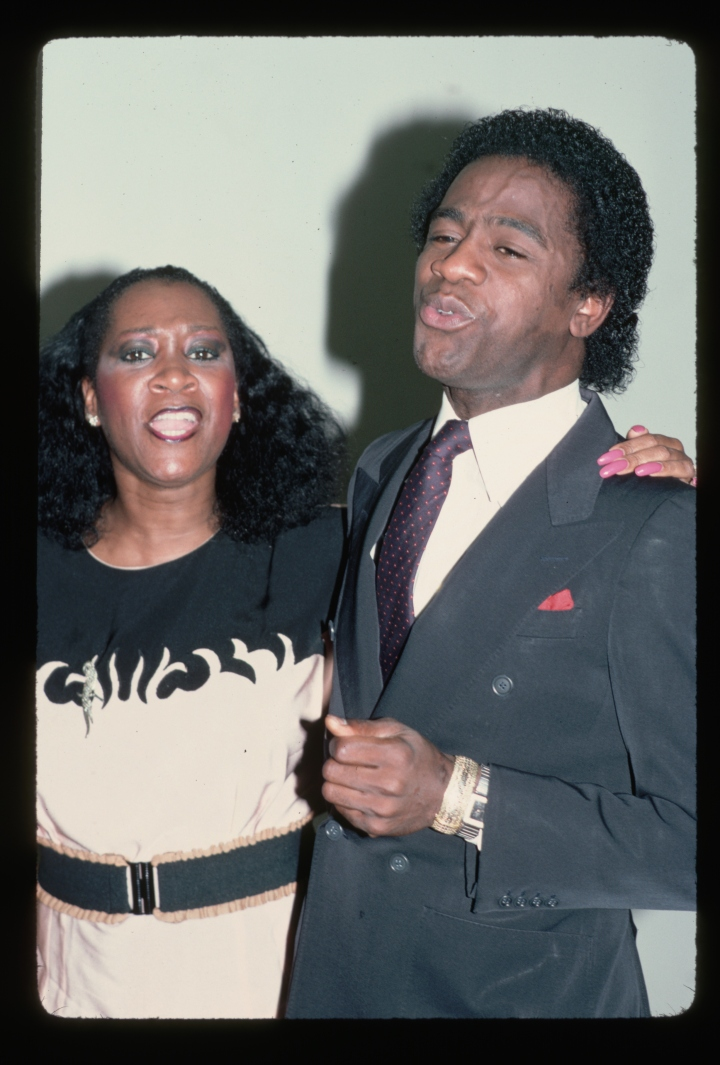 Patti Labelle and Al Green Singing