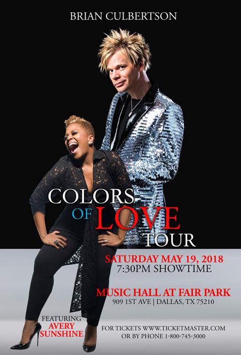 Colors of Love Tour