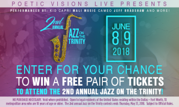 Jazz on the Trinity Ticket Giveaway Sweepstakes