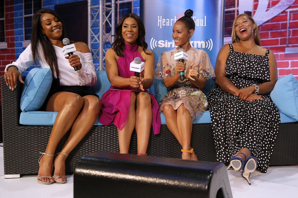Regina Hall, Tiffany Haddish, Jada Pinkett Smith, Queen Latifah And Cast Hit Essence Festival 2017 In New Orleans - Day 1