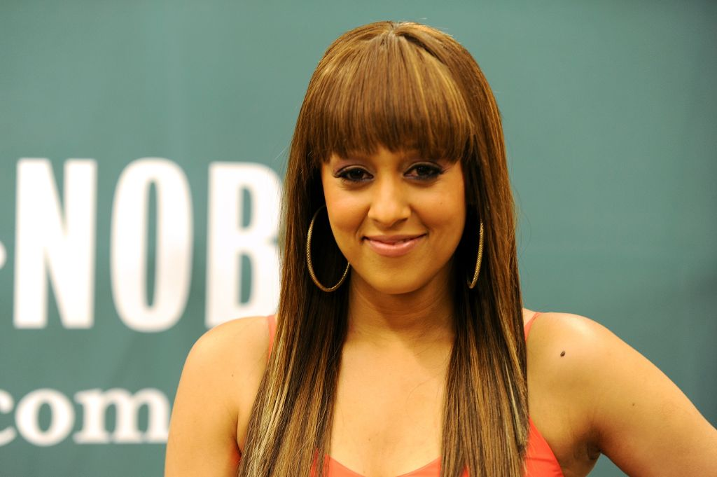 Tia Mowry Book Signing For 'Oh Baby! Pregnancy Tales And Advice From One Hot Mama To Another'