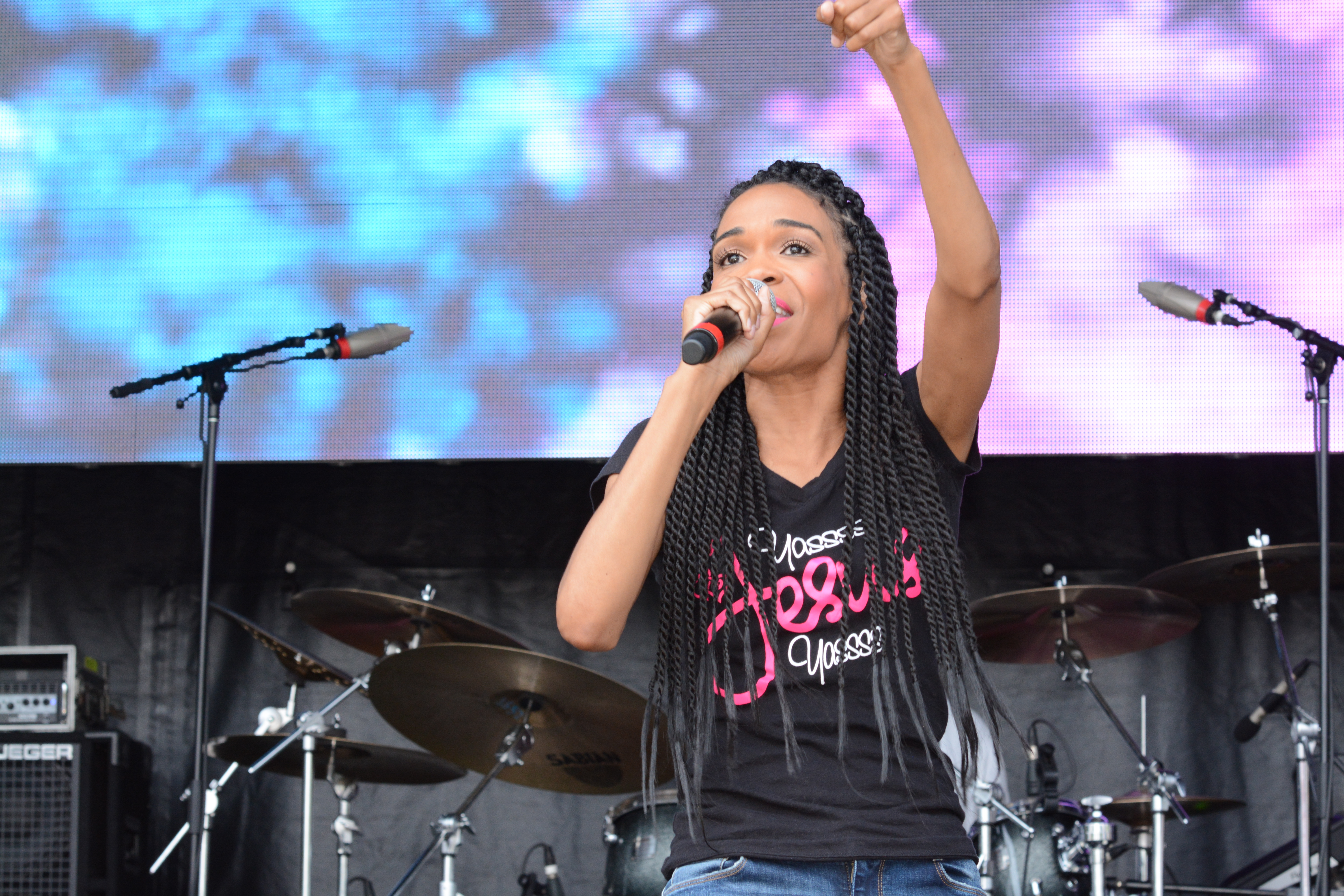 Michelle Williams Praise in the Park 2015