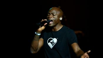 Seal performs onstage at Hard Rock Live!