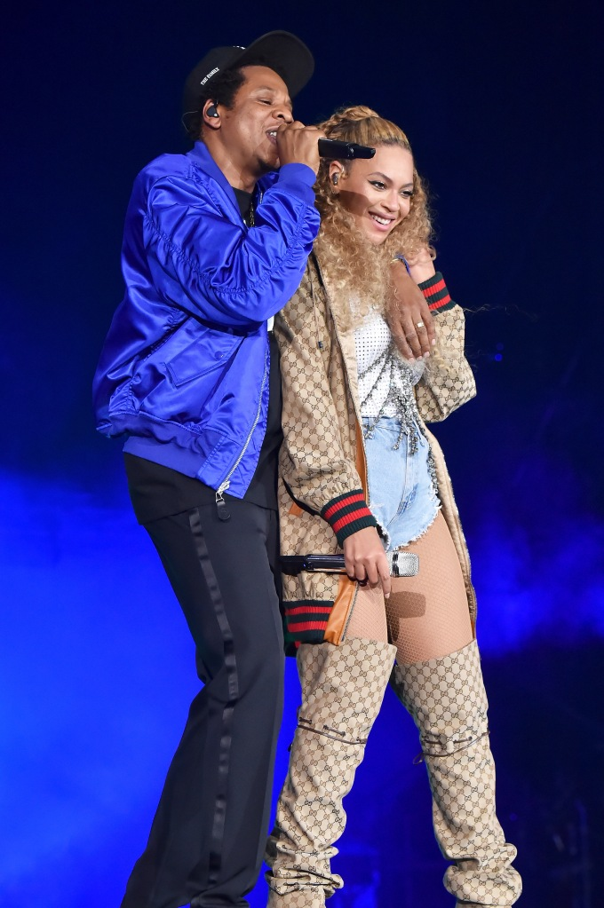 Beyoncé and Jay-Z On The Run II Cardiff