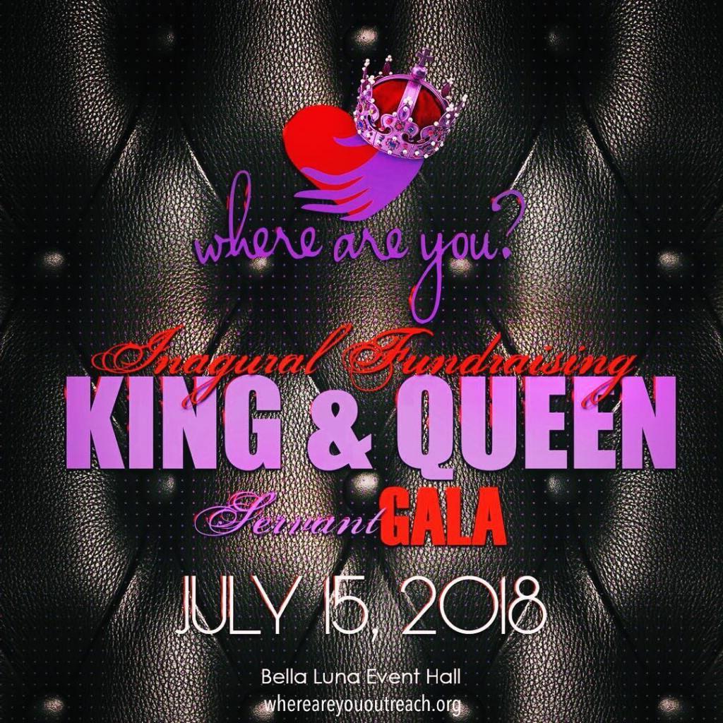 King & Queen Servant Gala