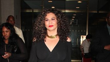Tina Knowles-Lawson, mother of singer Beyonce, spotted leaving the 'Today' show in NYC's Rockefeller Center