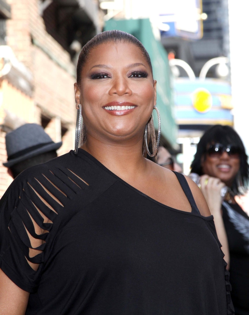 QUEEN LATIFAH AT THE LETTERMAN SHOW