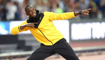 VIP's Attend The IAAF World Athletics Championships
