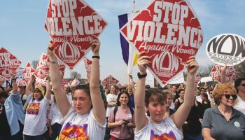 Demonstration Against Domestic Violence