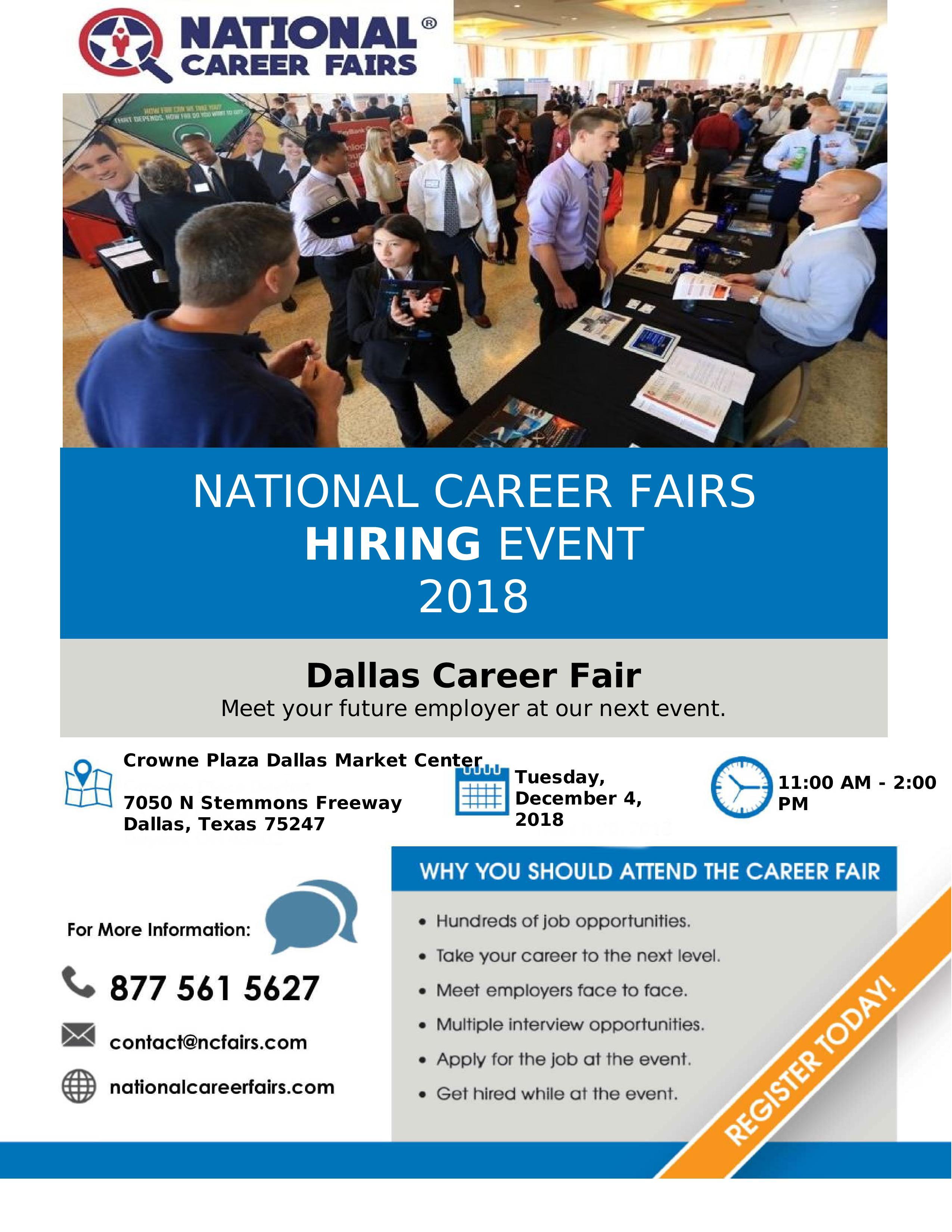 National Career Fairs Hiring Event