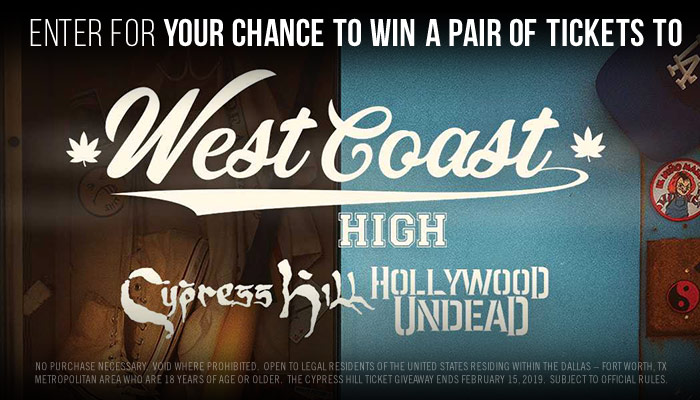 Cypress Hill Giveaway Sweepstakes