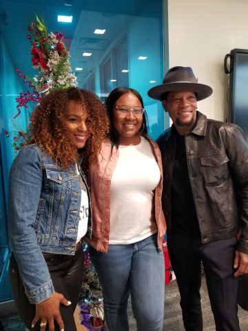 D.L. Hughley & Jasmine Sanders Meet-N-Greet (PHOTOS)