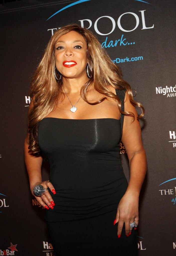 Wendy Williams Visits The Pool After Dark At Harrah's - March 17, 2011
