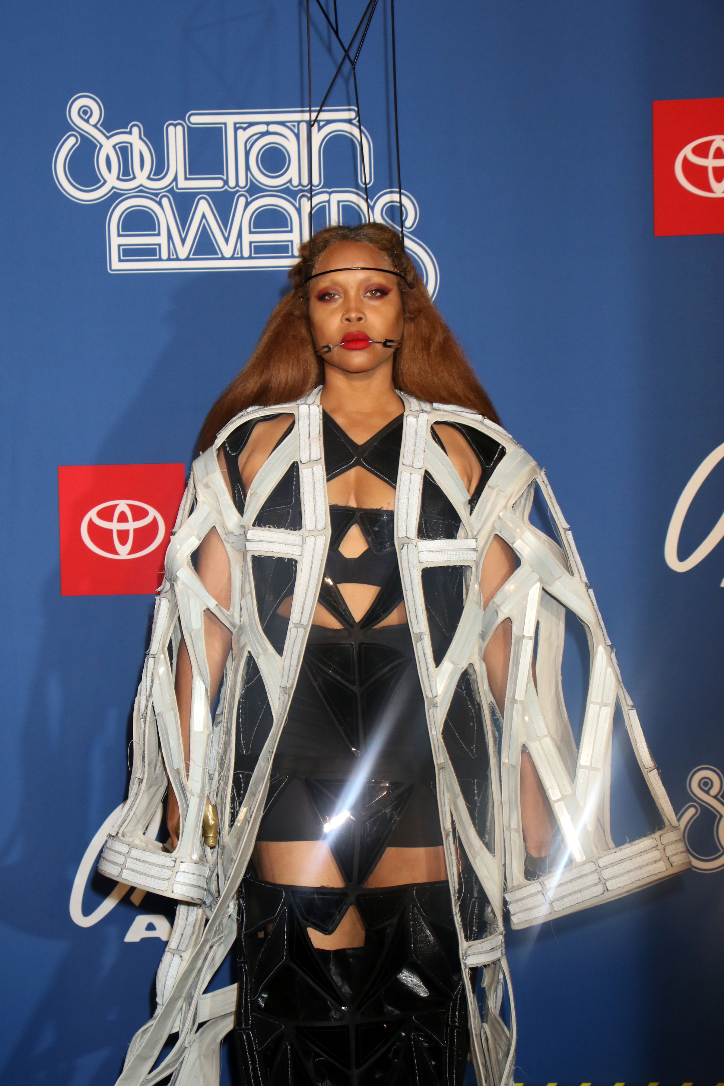Erykah Badu 2018 Soul Train Music Awards Red Carpet