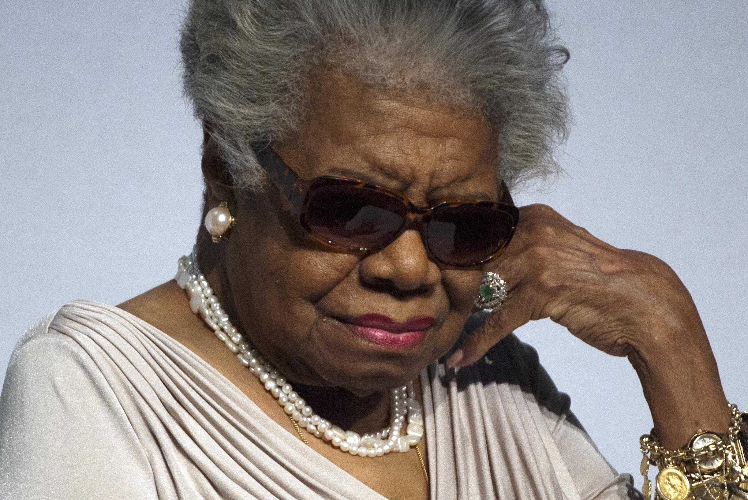 Keynote speaker Maya Angelou discusses the age of wisdom, the aging community and how to lead positive change.