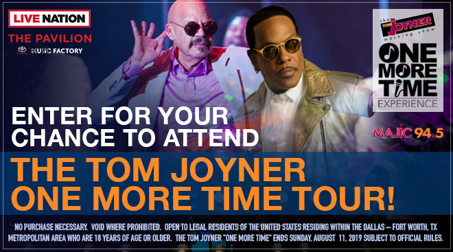 Tom Joyner One More Time Tour_March 2019