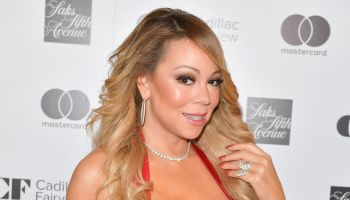 Mariah Carey At The Hudson's Bay And Saks Fifth Avenue Holiday Window Unveiling Presented By MasterCard