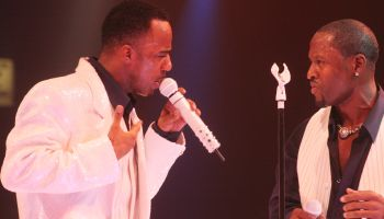'New Edition' Performs at the North Fork Theatre at Westbury