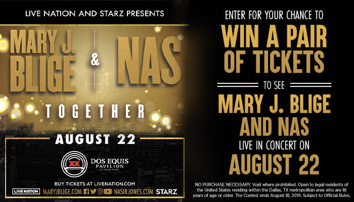 Mary J Blige & Nas contest
