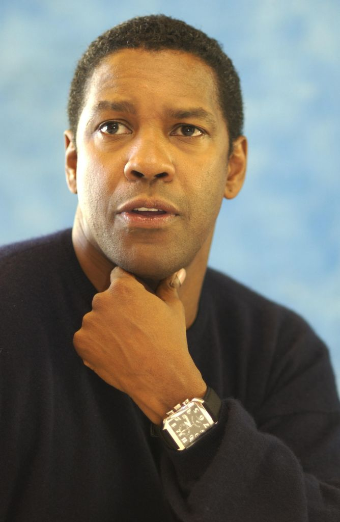 2003 Toronto Film Festival - 'Out of Time' Press Conference with Denzel Washington and Carl Franklin