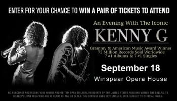 Local: Kenny G Online Contest_RD Dallas KZMJ_July 2019