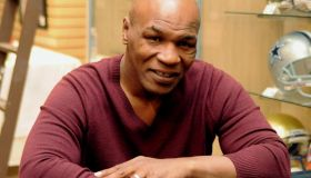 Tyson Signs Autographs In Las Vegas