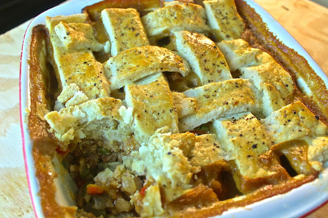 Smothered Chicken Pot Pie