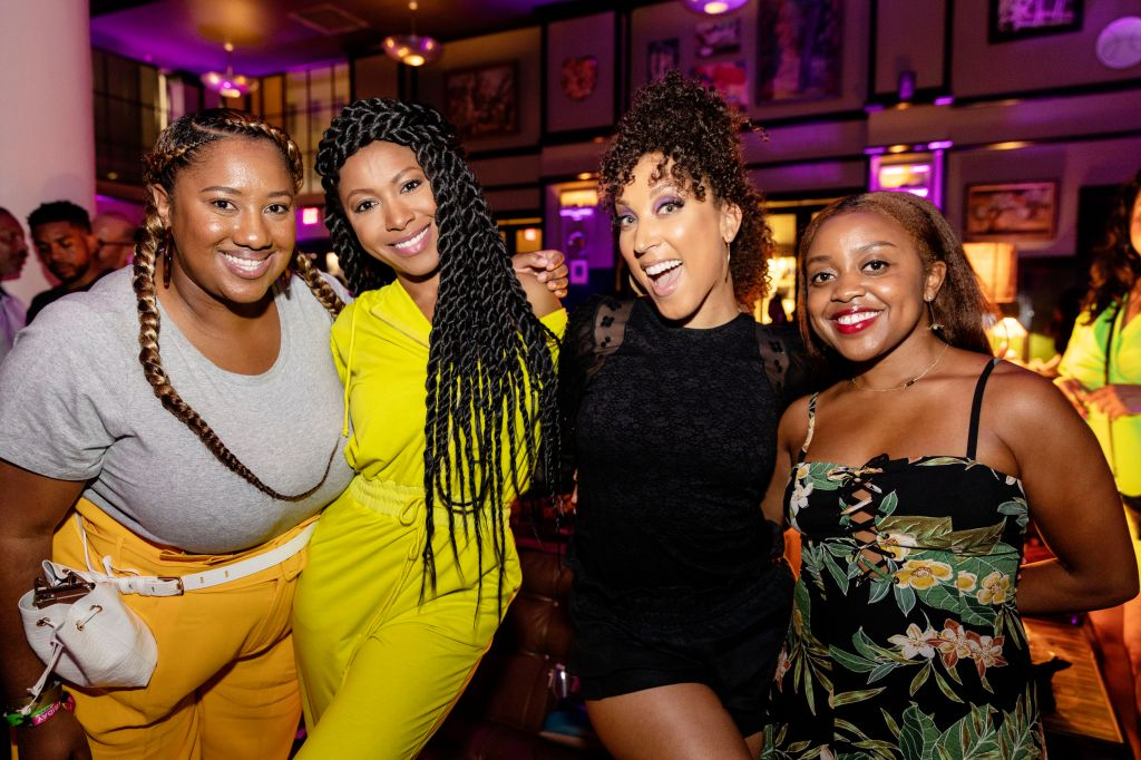 Gabrielle Dennis and Robin Thede HBO Essence Festival Events Everyday People Party
