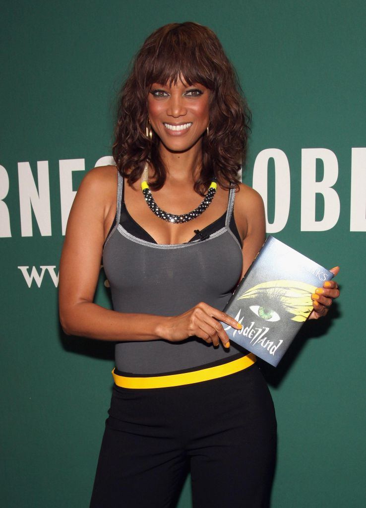 Tyra Banks Signs Her New Book 'Modelland'