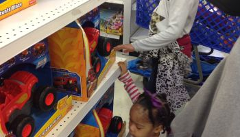 Single Mom's Shopping Spree 2015