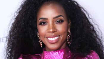 Singer Kelly Rowland arrives at the Beautycon Festival Los Angeles 2019 - Day 1 held at the Los Angeles Convention Center on August 10, 2019 in Los Angeles, California, United States.