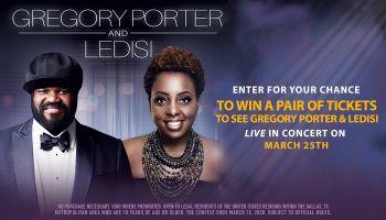 Gregory Porter and Ledisi Online Contest_RD Dallas KZMJ_October 2019